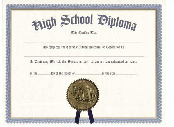 Highschool Diploma