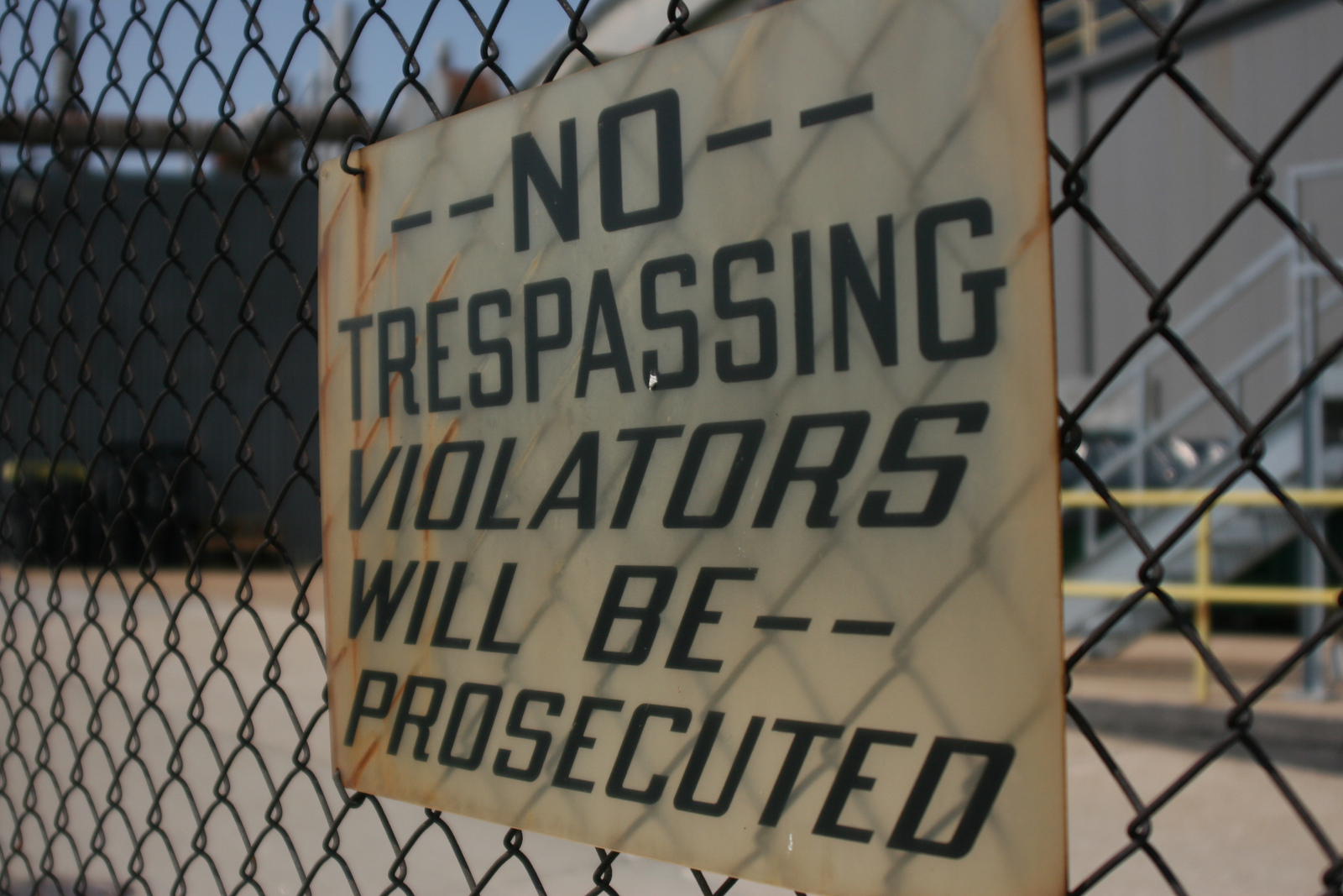 Writing a No Trespassing Letter