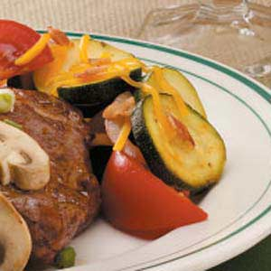 Zucchini & Tomato Side Dish