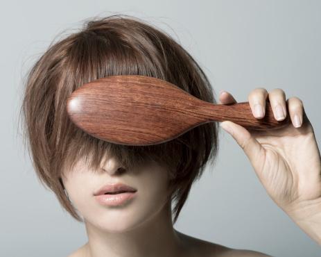 Brushing Short Hair