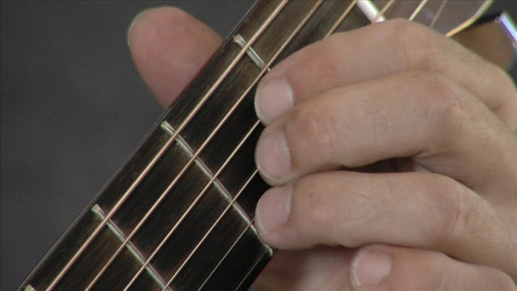 How to play an A major chord on Guitar