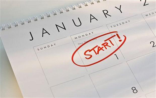 starting new year