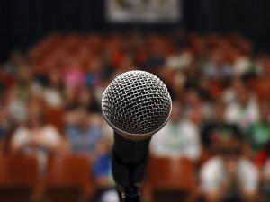 Mic for speech