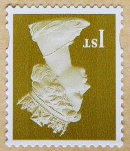 upside down stamp