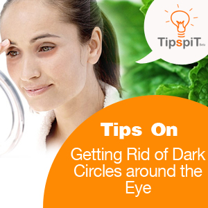 Getting rid of dark circles around the eyes