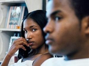 Husband Cheating on Wife