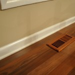 How to Paint Over Stained Baseboards and Molding