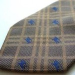 How To Spot Fake Burberry Neckties For Men